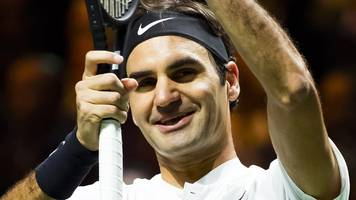 world number one federer beats dimitrov to win rotterdam title