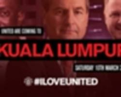 Manchester United to Bring #ILOVEUNITED to Malaysia