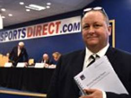 mike ashley´s sports direct damned by church of england...