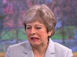 QUENTIN LETTS watches Theresa May on This Morning