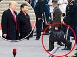 Secret Service tackled Chinese in nuclear football clash