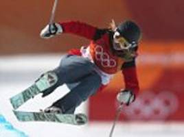 winter olympics: us woman competes in skiing minus tricks