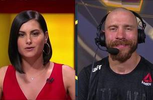 Donald 'Cowboy' Cerrone talks with the UFC on FOX crew   POST-FIGHT   INTERVIEW   UFC FIGHT NIGHT
