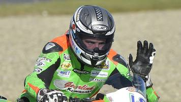 andrew irwin ruled out of world supersport opener with broken hand