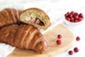 step aside halloween: the thanksgiving croissant is back