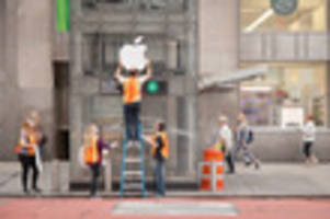 watch as improv everywhere opens fake apple store at subway station