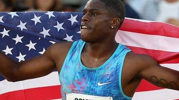 christian coleman breaks 20-year-old 60m indoor world record with time of 6.34 seconds