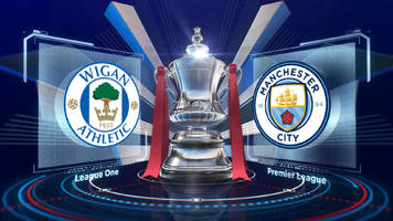 FA Cup: Wigan 1-0 Man City FA Cup fifth round highlights