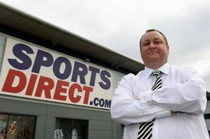 sports direct criticised by church of england over treatment of workers at shirebrook factory