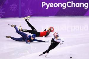 'Desperate' Elise Christie to have morning fitness test to decide if she can compete in 1,000m at Winter Olympics