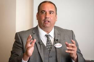west midlands mep bill etheridge says he'll probably stand to become ukip leader as he defends enoch powell