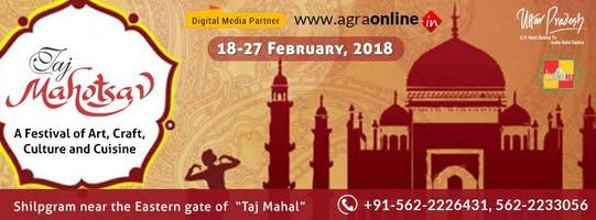 agraonline.in & taj mahotsav 2018 announce tie-up to promote culture & tourism