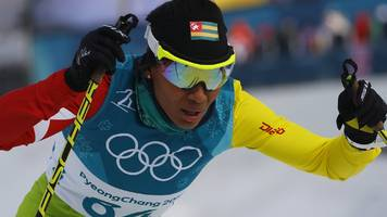 more africans should try winter sports, says togolese cross-country skier