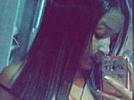 Brazilian girl is electrocuted by her mobile phone