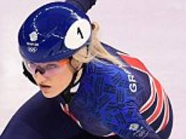 Elise Christie Winter Olympics OVER after disqualification