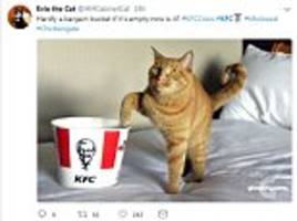 Twitter users share hilarious reactions to the KFC crisis