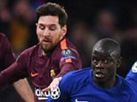 Chelsea 1-1 Barcelona player ratings in Champions League