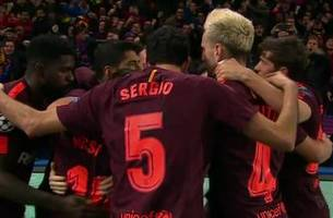 Messi nets big away goal for Barcelona vs. Chelsea | 2017-18 UEFA Champions League Highlights