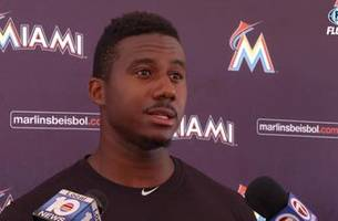 Lewis Brinson on Parkland shooting, visiting victims in hospital