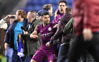 aguero avoids punishment over on-field altercation with fan