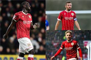 midfielder ruled out of bristol city's game against fulham and latest on famara diedhiou fitness
