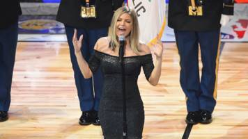 Fergie apologises for NBA national anthem performance