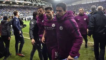 sergio aguero to face no action from fa after spitting altercation with wigan supporter
