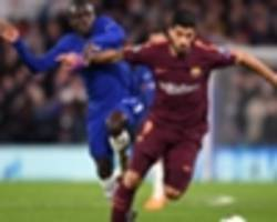 Suarez sends Messi goal warning to Chelsea ahead of Camp Nou trip