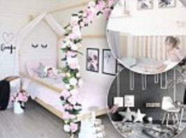 mother transforms children's rooms into stylish spaces