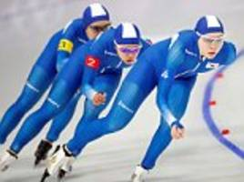 South Koreans demand banning of two speed skaters