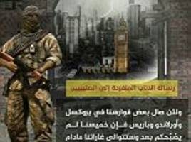 isis calls on fanatics to 'burn america' and attack london
