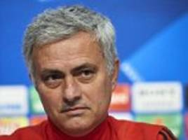 jose mourinho aims dig at man city after defeat to wigan
