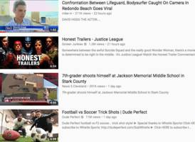 youtube is promoting a video that the far-right has used to claim one of the florida school shooting survivors is a paid actor (goog)