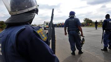 South Africa police station raid: Five killed in Umtata