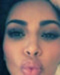 Leaking her own nudes: Kim Kardashian strips off for saucy FaceTime session