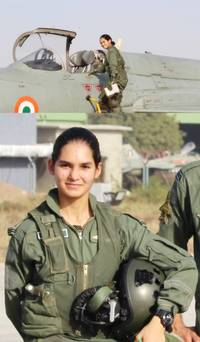 avani becomes first indian woman to fly fighter aircraft solo