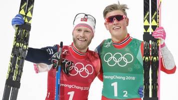 winter olympics 2018: klabo claims third gold as norway win men's cross country team sprint