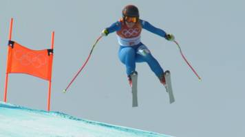 winter olympics: sofia goggia claims italy's first women's downhill gold