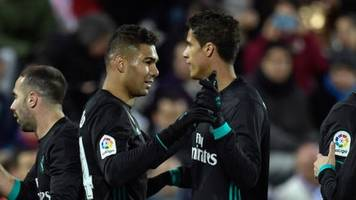 Real Madrid continue good form with win at Leganes