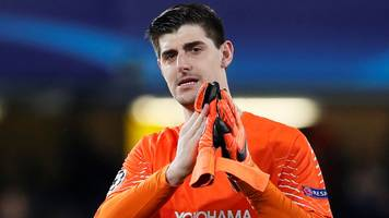 Real Madrid want Chelsea keeper Courtois - Thursday's gossip