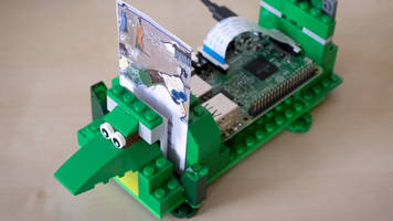a jukebox for the 21st century, powered by raspberry pi and lego