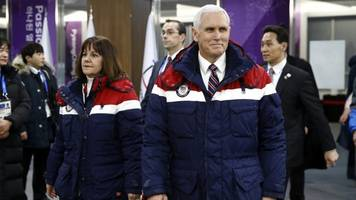 north korea reportedly bailed on a secret meeting with mike pence