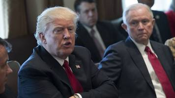 trump lashes out at sessions over russia probe — again