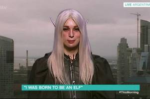 This Morning viewers gobsmacked by man who spent £45k on surgery to look like an elf