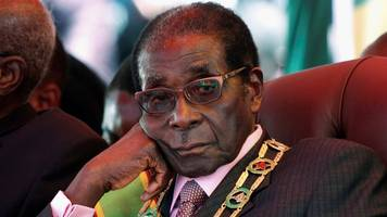 letter from africa: mugabe 'unloved' on his birthday