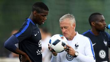 France Manager Didier Deschamps Insists Paul Pogba Is Having a 'Very, Very Good Season'