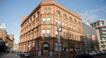 Fire breaks out at former Belfast Telegraph building