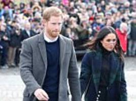 Meghan Markle and Prince Harry in anthrax terror scare