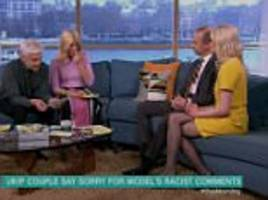 This Morning hosts slam Jo Marney over racist messages