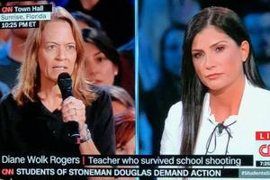 audience savages nra rep during cnn school shooting town hall: 'you're a murderer!'